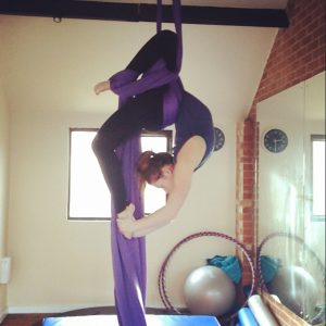 aerial silks move