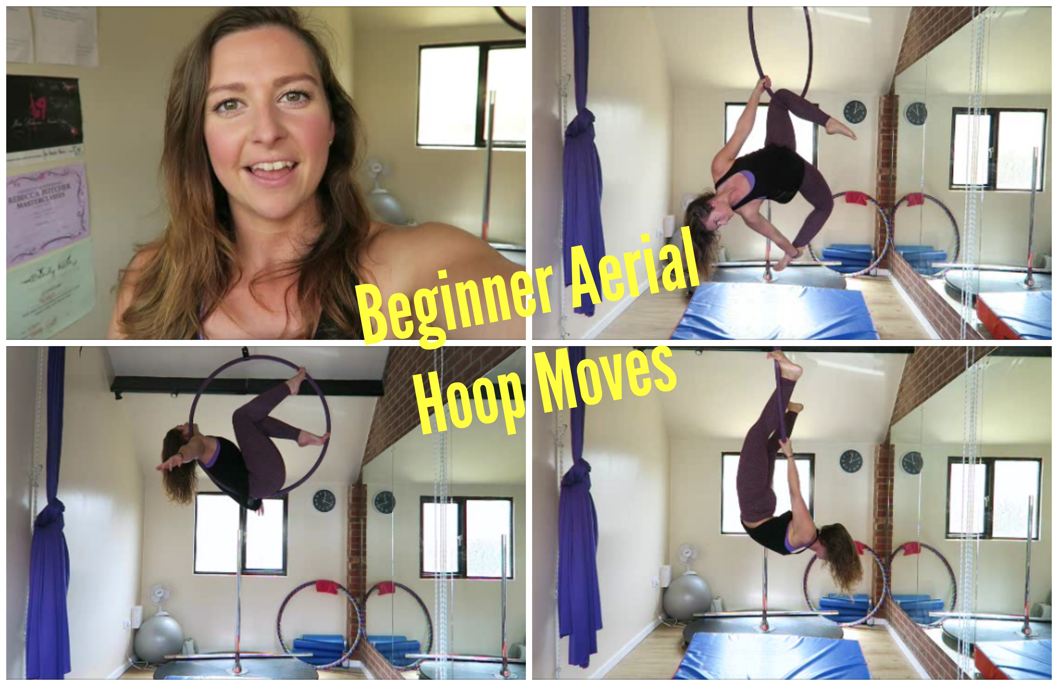 10 Beginner Aerial Hoop Moves