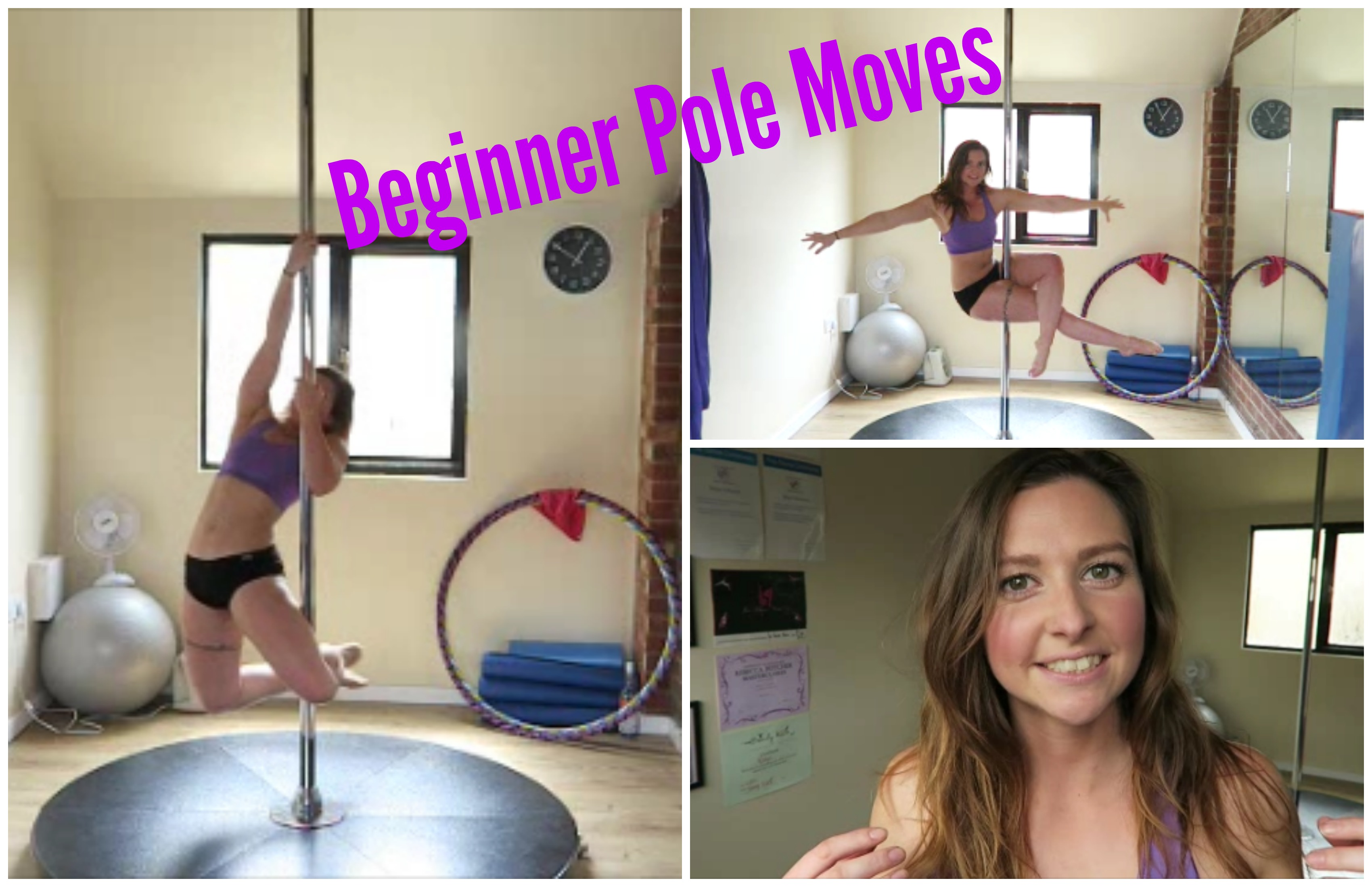 10 Beginner Pole Moves