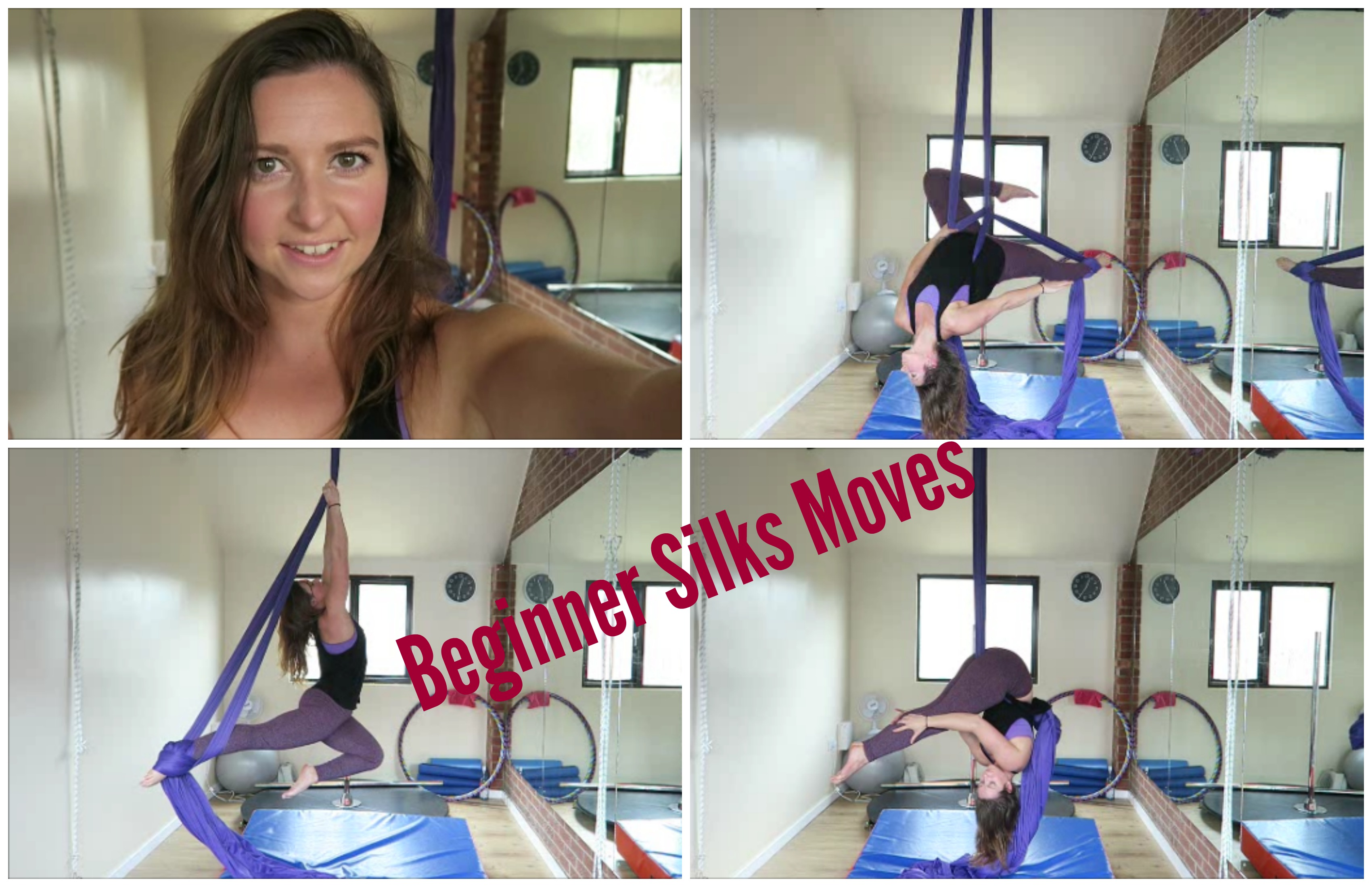 10 Beginner Aerial Silks Moves