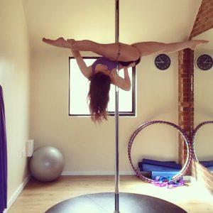 Pole splits