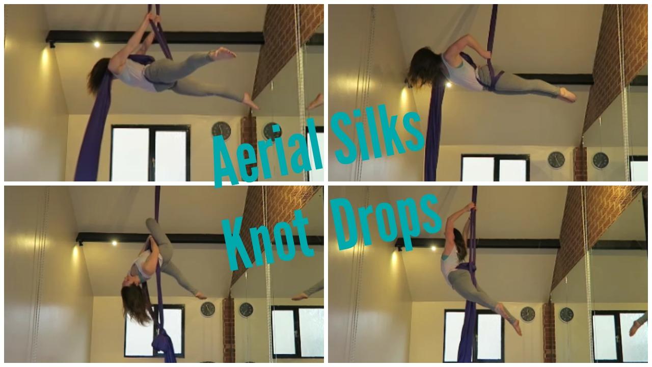Aerial Silks Knot Drops