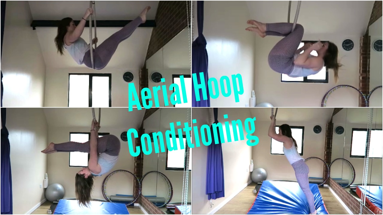 Aerial Hoop Conditioning Exercises