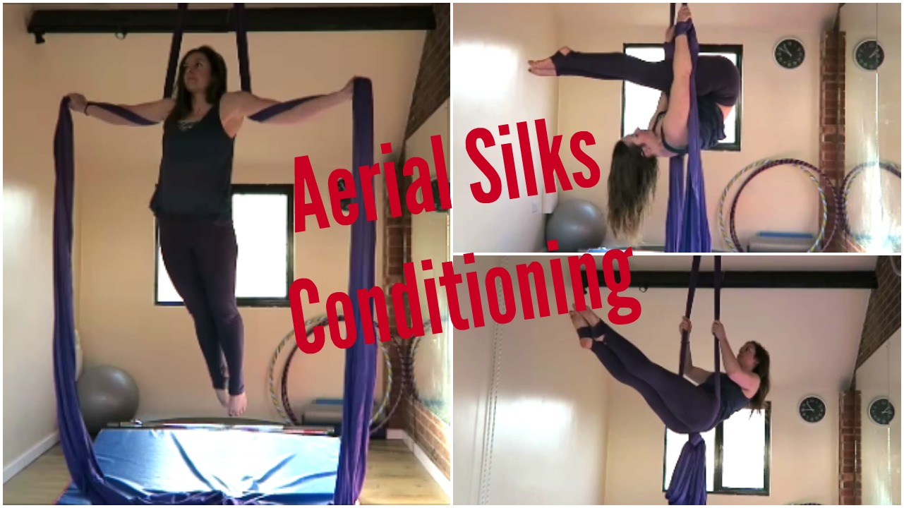 Aerial Silks Conditioning Exercises