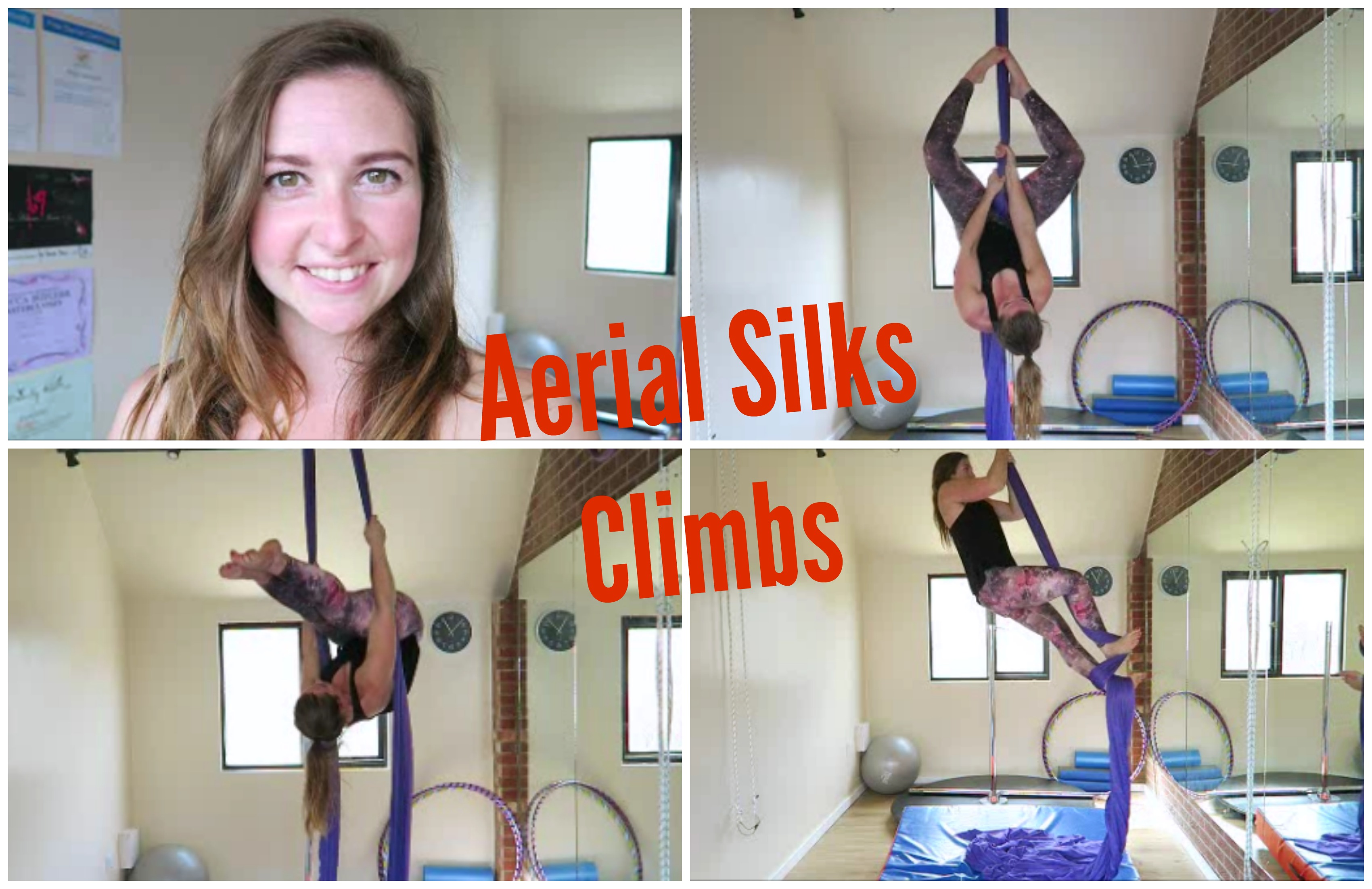 Aerial Silks Climbs