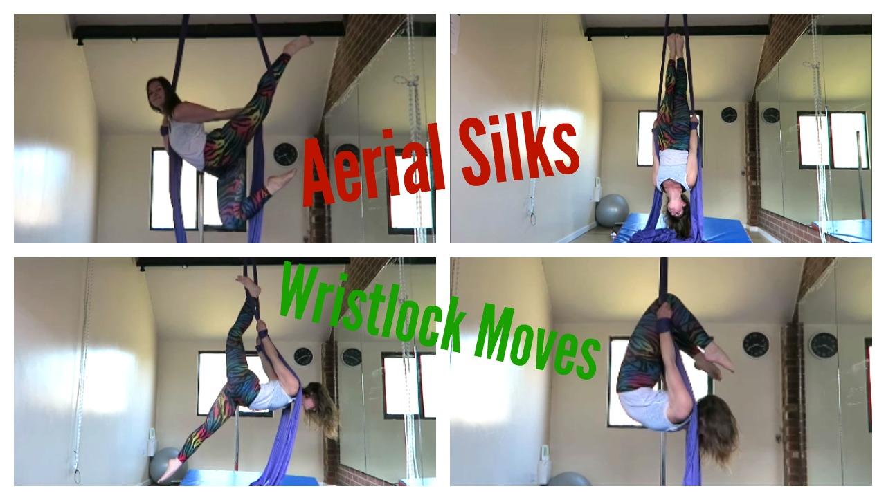 Aerial Silks Wristlock Moves