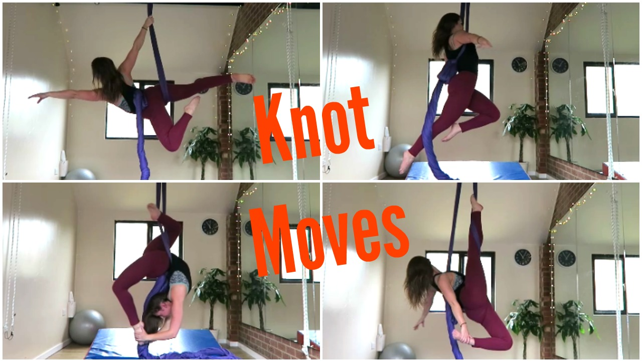14 Aerial Silks Knot Moves