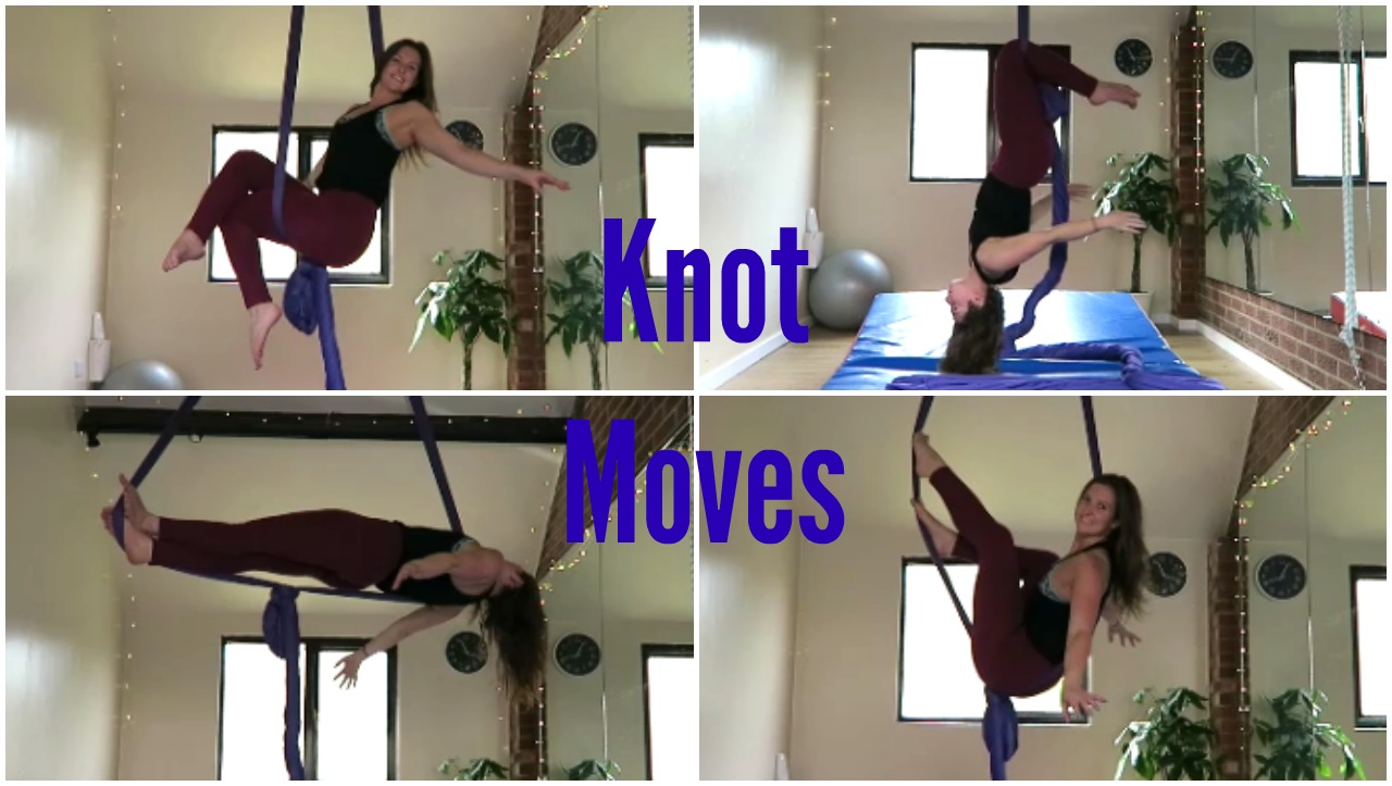 7 Seated Knot Moves on the Aerial Silks