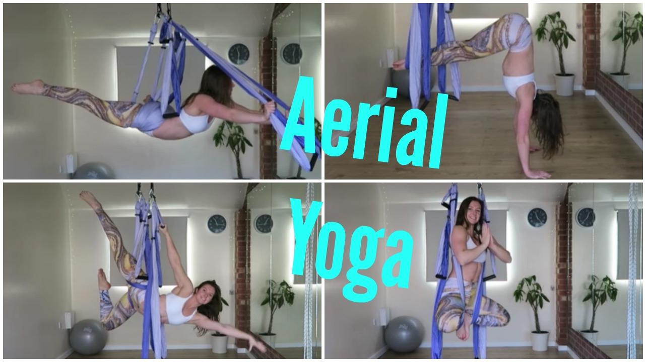#30daysofyogatrapeze Aerial Yoga Challenge