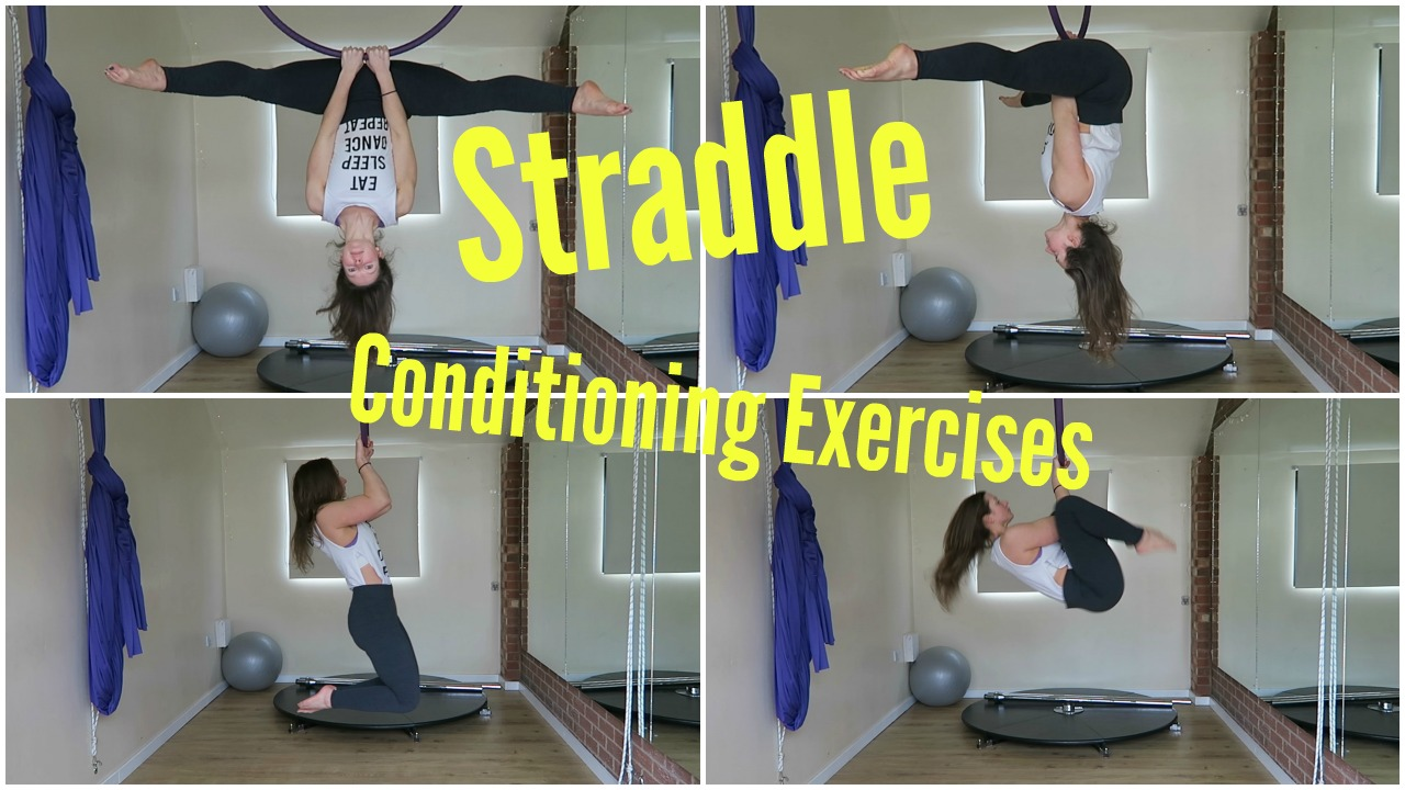 Aerial Hoop Tips to Get Your Straddle