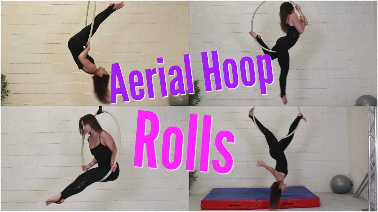 Fun Aerial Hoop Rolls