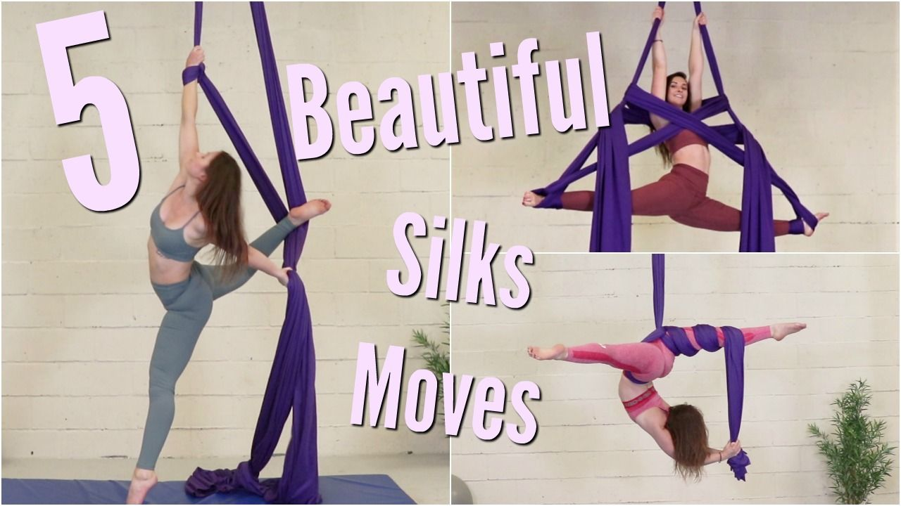 Beautiful Aerial Silks Moves